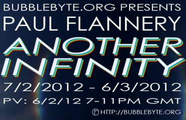 Paul Flannery - Another Infinity, flier