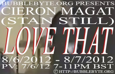 Cieron Magat - Love That, flier